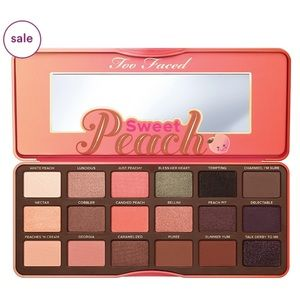 Too Faced Sweet Peach Palette BNIB